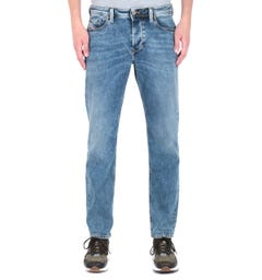 Diesel Larkee Beex Acid Blue Tapered Jeans