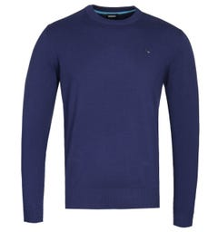 Diesel K-Pablo Navy Knitted Sweater