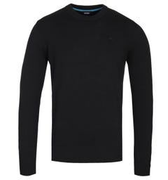 Diesel K-Pablo Black Knitted Sweater