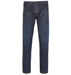 Diesel Washed Black Thommer Slim Jeans