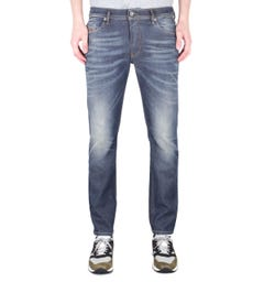 Diesel Thommer Pantaloni Slim Fit Dark Blue Wash Denim Jeans