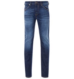 Diesel Belther-R Tapered Fit Jeans - Dark Blue