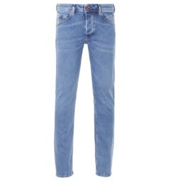 Diesel Belther-R Tapered Fit Jeans - Light Blue