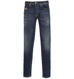 Diesel Sleenker Pantaloni Slim Fit Dark Blue Denim Jeans