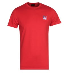 Diesel Racing D Red Logo T-Shirt