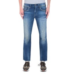 True Religion Ricky Blue Wash Regular Fit Jeans