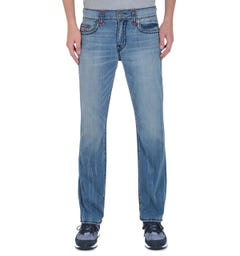True Religion Ricky Super T Regular Fit Light Blue Jeans