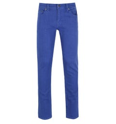 True Religion Rocco Royal Blue Slim Fit Jeans