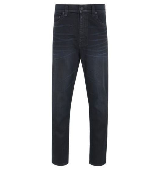 True Religion Marco Dark Blue Tapered Fit Jeans