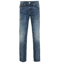 True Religion Rocco Skinny Fit Summer Blue Wash Denim Jeans