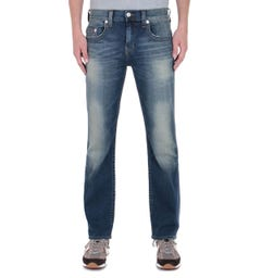 True Religion Ricky Regular Fit Blue Wash Jeans