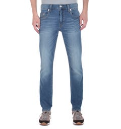 True Religion Geno Slim Fit Light Blue Denim Jeans