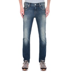 True Religion Geno Blue Wash Slim Fit Jeans