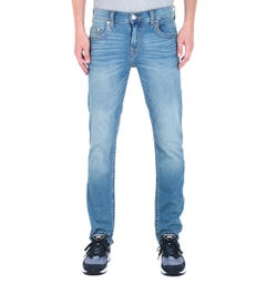 True Religion Geno Relaxed Slim Fit Blue Wash Denim Jeans