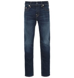 True Religion Rocco Skinny Fit Deep Blue Denim Jeans