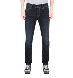 True Religion Rocco Super T Black Slim Fit Jeans