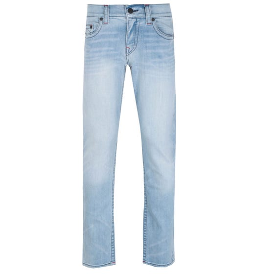 True Religion Geno Slim Fit No Flap blue Denim Jeans