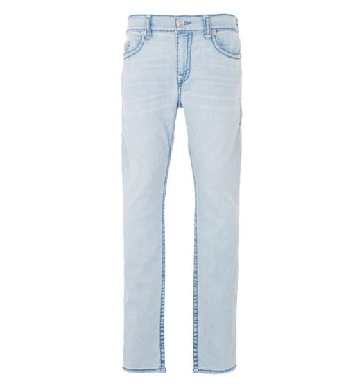True Religion Rocco Super T Relaxed Skinny Jeans - Cold Blues
