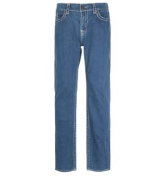 True Religion Ricky Straight Fit Super T Blue Denim Jeans