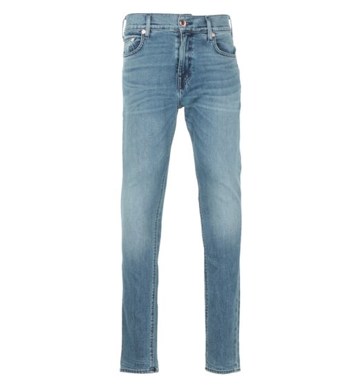 True Religion Jack Super Skinny Jeans - Shadow Blue
