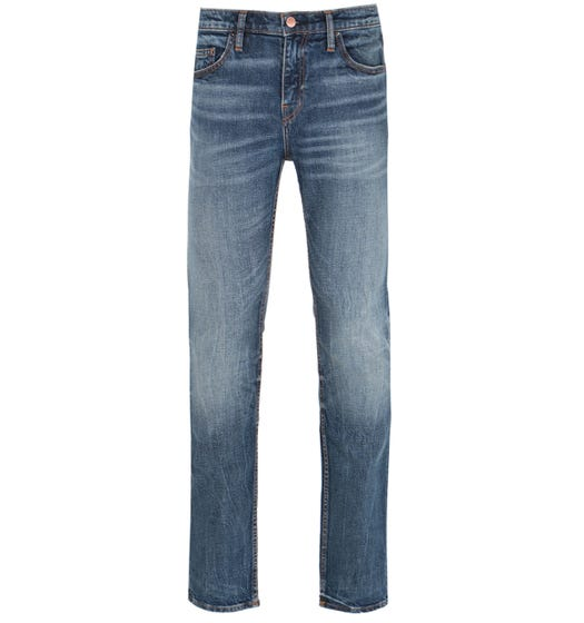 True Religion Rocco Skinny Fit Blue Wash Denim Jeans