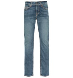True Religion Geno Slim Fit Dark Champion Blue Denim Jeans