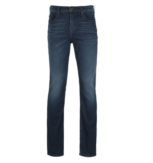 True Religion Ricky Relaxed Straight Fit No Flap Deep Blue Denim Jeans