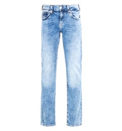 True Religion Geno No Flap Slim Fit Light Blue Denim Jeans