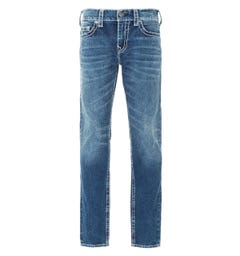 True Religion Geno Big T Slim Fit Jeans - Dark Blue