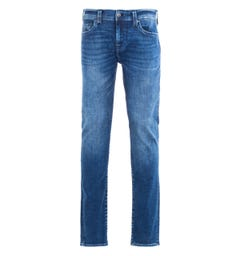 True Religion Rocco No Flap Skinny Fit Dark Blue Denim Jeans