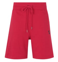 True Religion Logo Sweat Shorts - Ruby Red