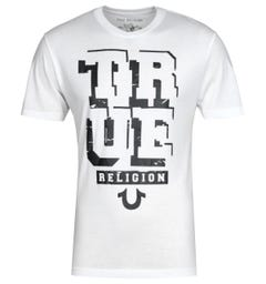 True Religion Guided White T-Shirt