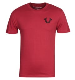 True Religion Lullaby Red T-Shirt