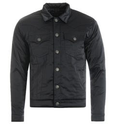 True Religion Jimmy Satin Jacket - Black