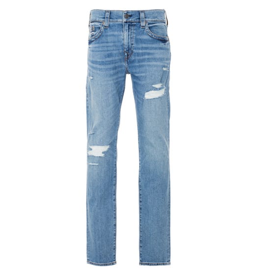 True Religion Rocco Relaxed Skinny Jeans - Pony Express