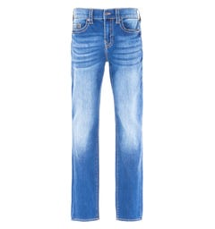 True Religion Geno Relaxed Slim Fit No Flap Vintage Blue Jeans