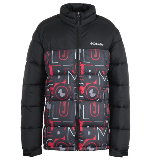 Columbia Pike Lake Print Jacket - Black