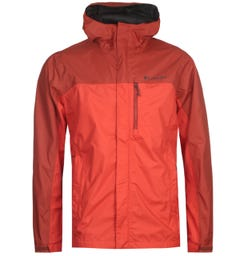 Columbia Red Pouring Adventure II Jacket