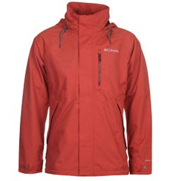 Columbia Red Good Ways II Waterproof Jacket