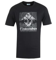 Columbia Basin Butte Black Beaming T-Shirt