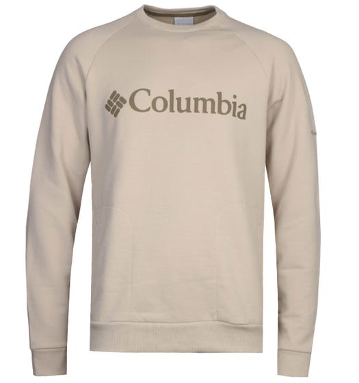 Columbia Beige Lodge Crew Neck Sweatshirt
