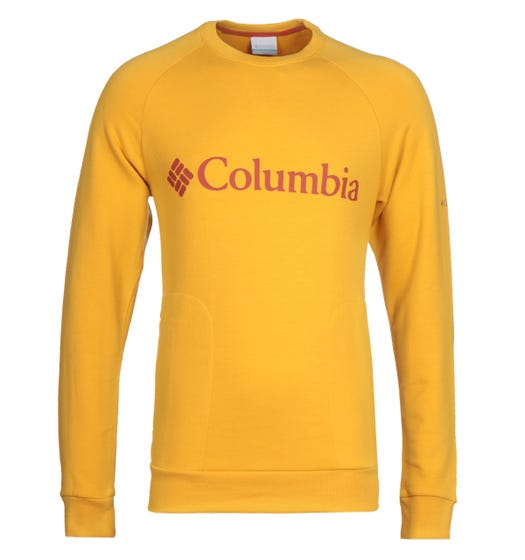 Columbia Lodge Yellow Sweatshirt