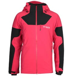 Columbia Powder Keg III Red and Black Jacket
