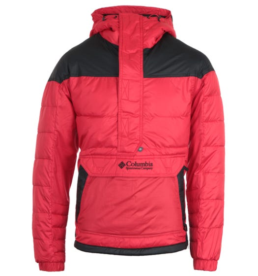 Columbia Lodge Pullover Jacket - Red