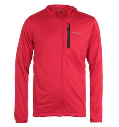 Columbia Tech Trail Hooded Sweatshirt - Red
