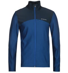 Columbia Blue Maxtrail Midlayer Fleece