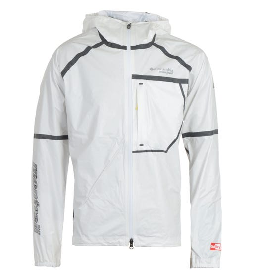 Columbia Lightweight Shell Jacket - White