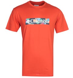 Columbia Rapid Ridge Red T-Shirt