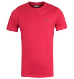 Columbia Rapid Ridge Back Graphic T-Shirt - Red