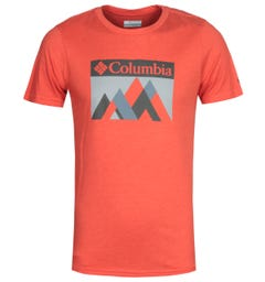 Columbia Alpine Way Red Graphic T-Shirt